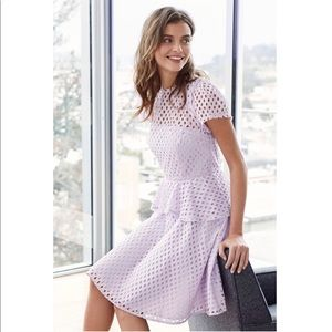Banana Republic Eyelet Lavender Dress